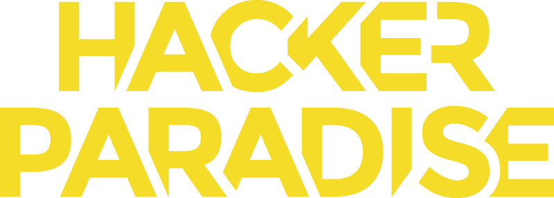 Hacker Paradise Yellow Logo